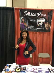 Actress Felissa Rose (Sleepaway Camp).