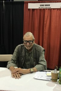 Writer and director George Romero.
