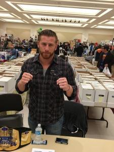 Wrestler Curt Hawkins.
