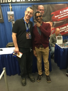 Me with Orlando Jones (Sleepy Hollow).