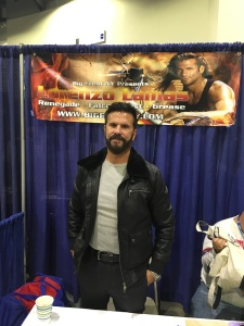 Actor Lorenzo Lamas (Sharknado 3, Renegade)