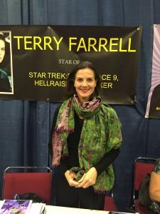 Actress Terry Farrell (Star Trek: Deep Space Nine, Hellraiser III).