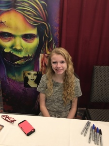 Actress Addy Miller (The Walking Dead).