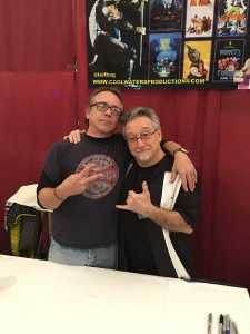 Actors Leif Tilden and Michelan Sisti (Teenage Mutant Ninja Turtles [1990]).