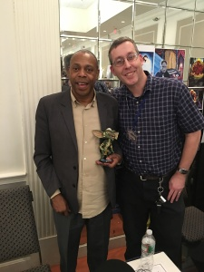 Actor Michael Winslow and myself.