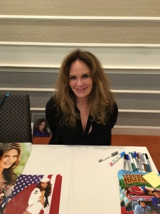 Actress Catherine Bach (The Dukes of Hazzard).