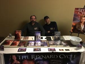 Author David R. Witanowski (left) and graphic designer Brian Morey (right).