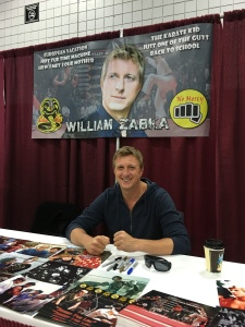 William Zabka (The Karate Kid).