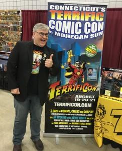 Mitch Hallock, organizer of Terrific Comic Con.