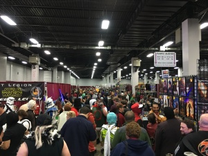 The crowds of Super Megafest.