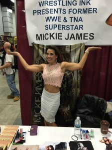 Wrestler Mickie James (WWE).