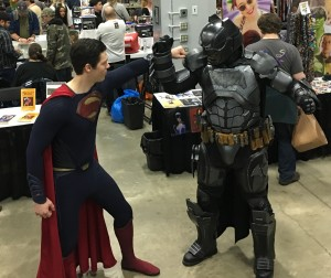Superman vs. Batman.