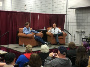 Kevin Sorbo at his Q and A panel.
