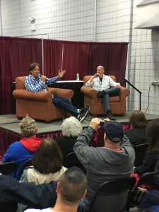 Kevin Sorbo (Hercules: The Legendary Journeys) at his Q & A session.