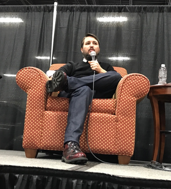 Wil Wheaton (Star Trek: The Next Generation).