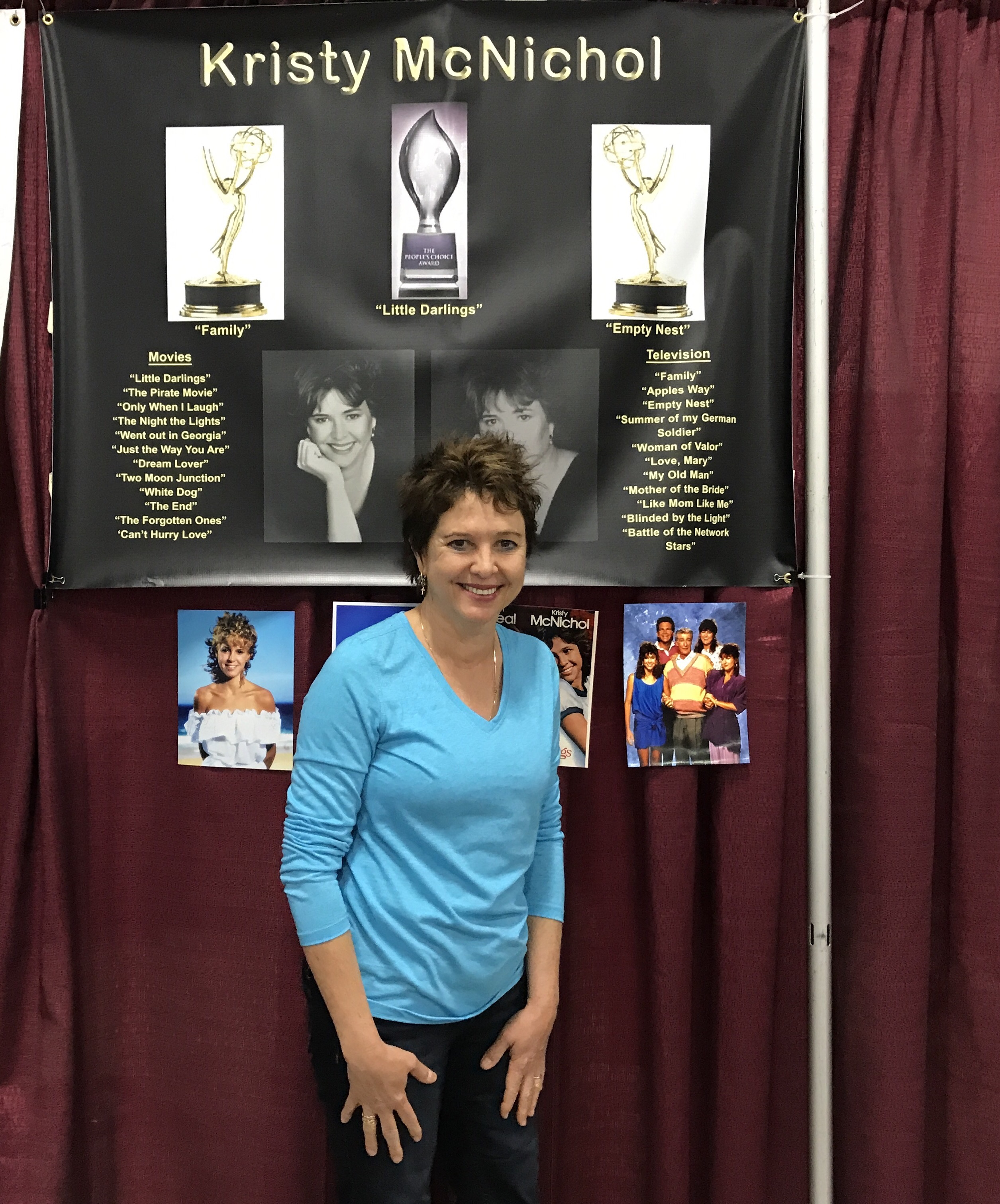Kristy McNichol (Can't Hurry Love).