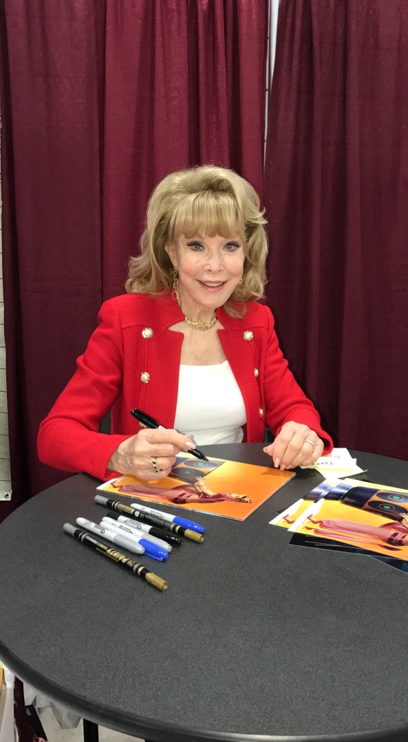 Barbara Eden (I Dream of Jeannie).