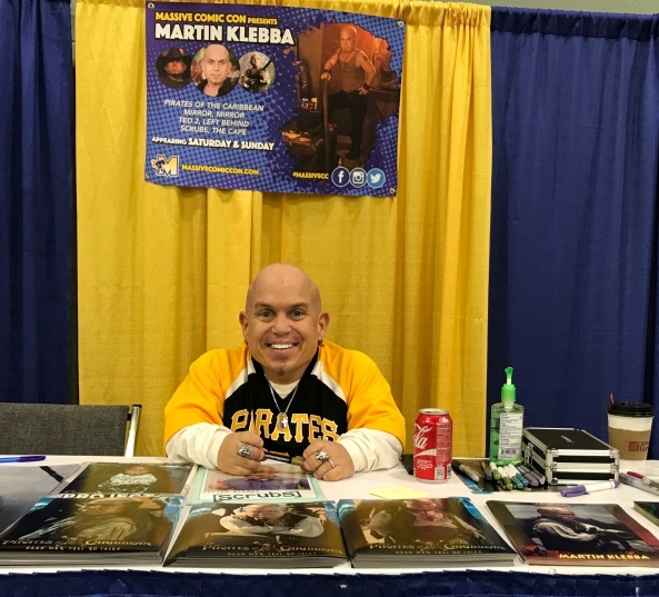 Martin Klebba (Pirates of the Caribbean: The Curse of the Black Pearl).