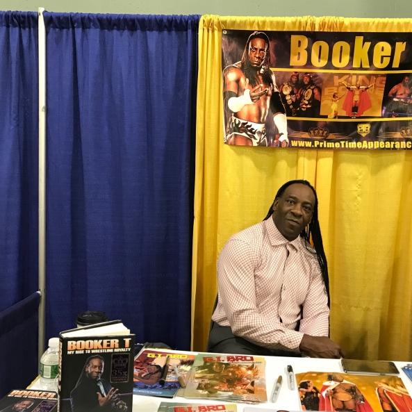Wrestler Booker T.