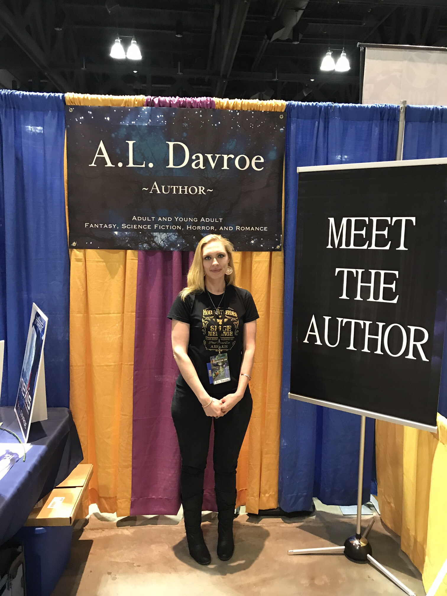 Author A.L. Davroe.