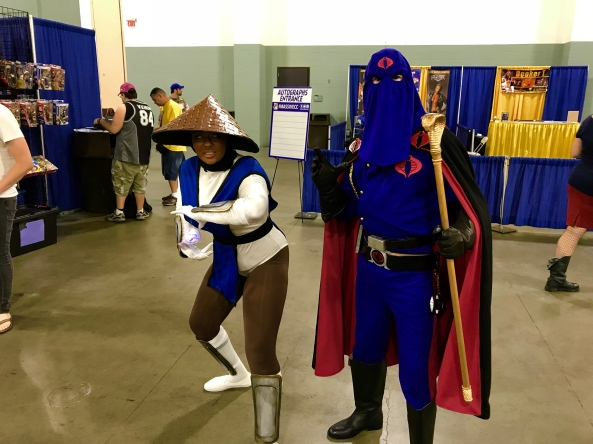 Cobra Commander with another Cosplayer.