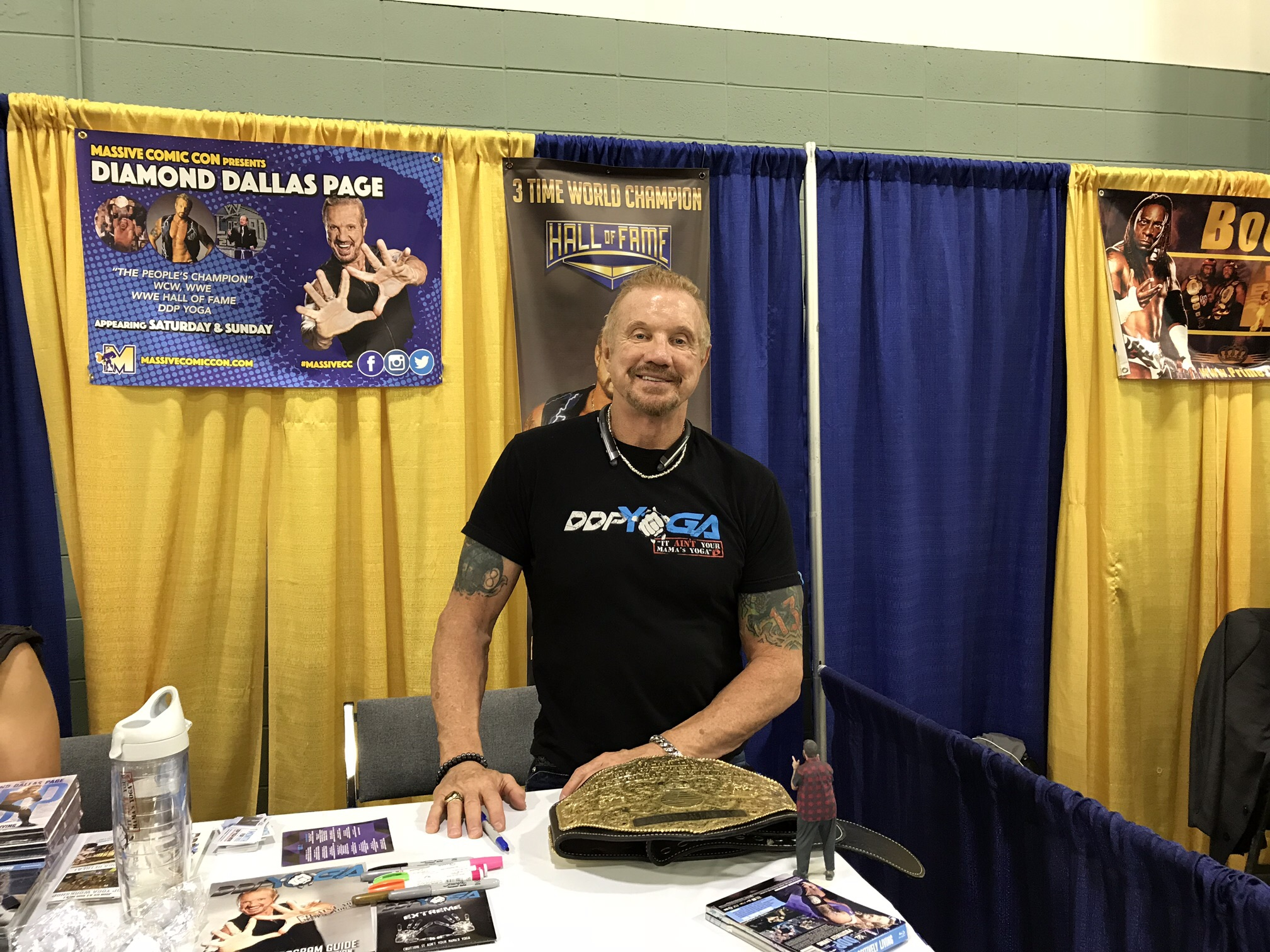 Former Wrestler Diamond Dallas Page.
