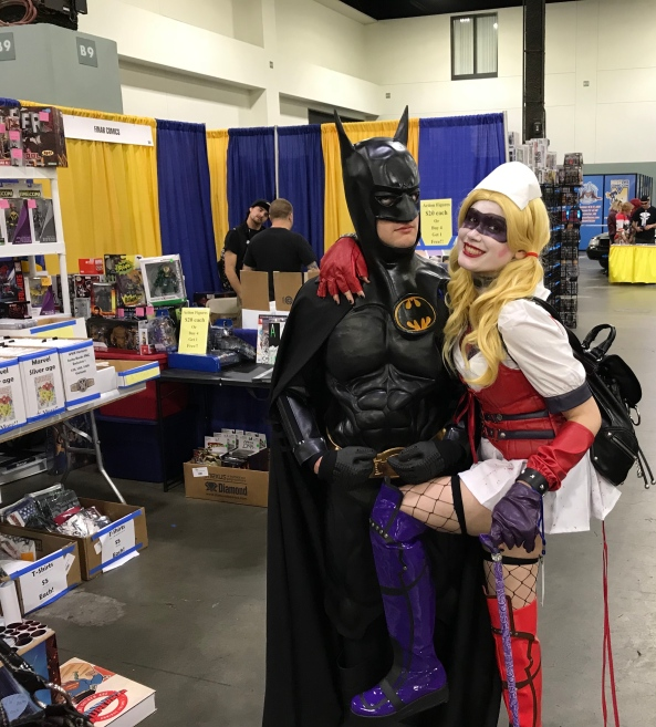 Batman and Harley Quinn.