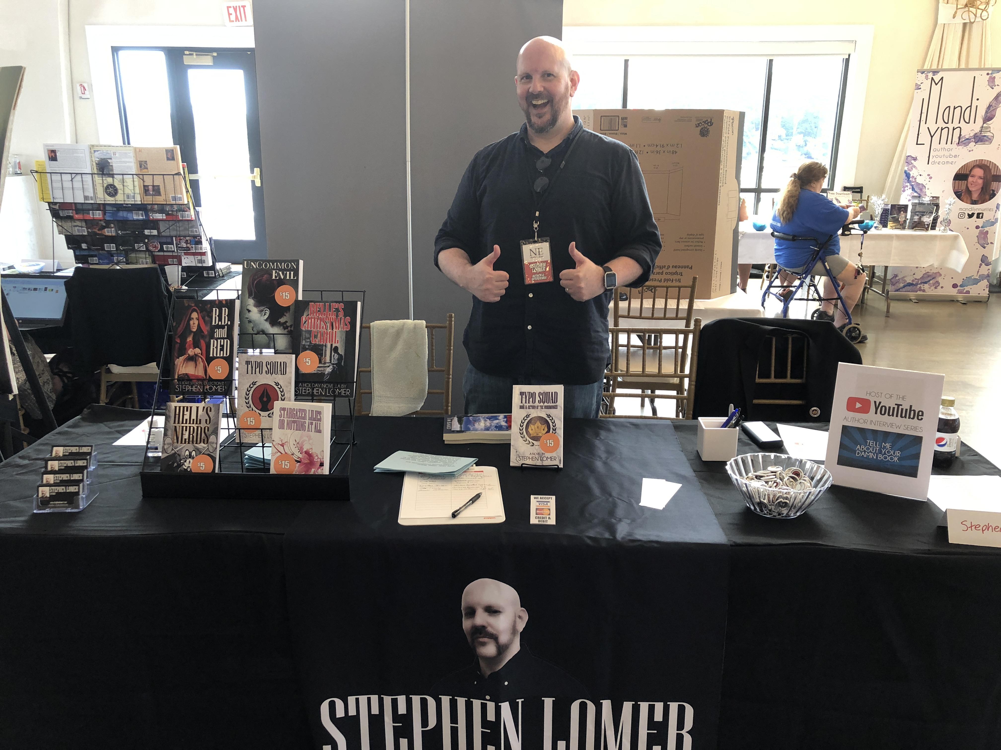 Author Stephen Lomer (http://www.stephenlomer.com/).