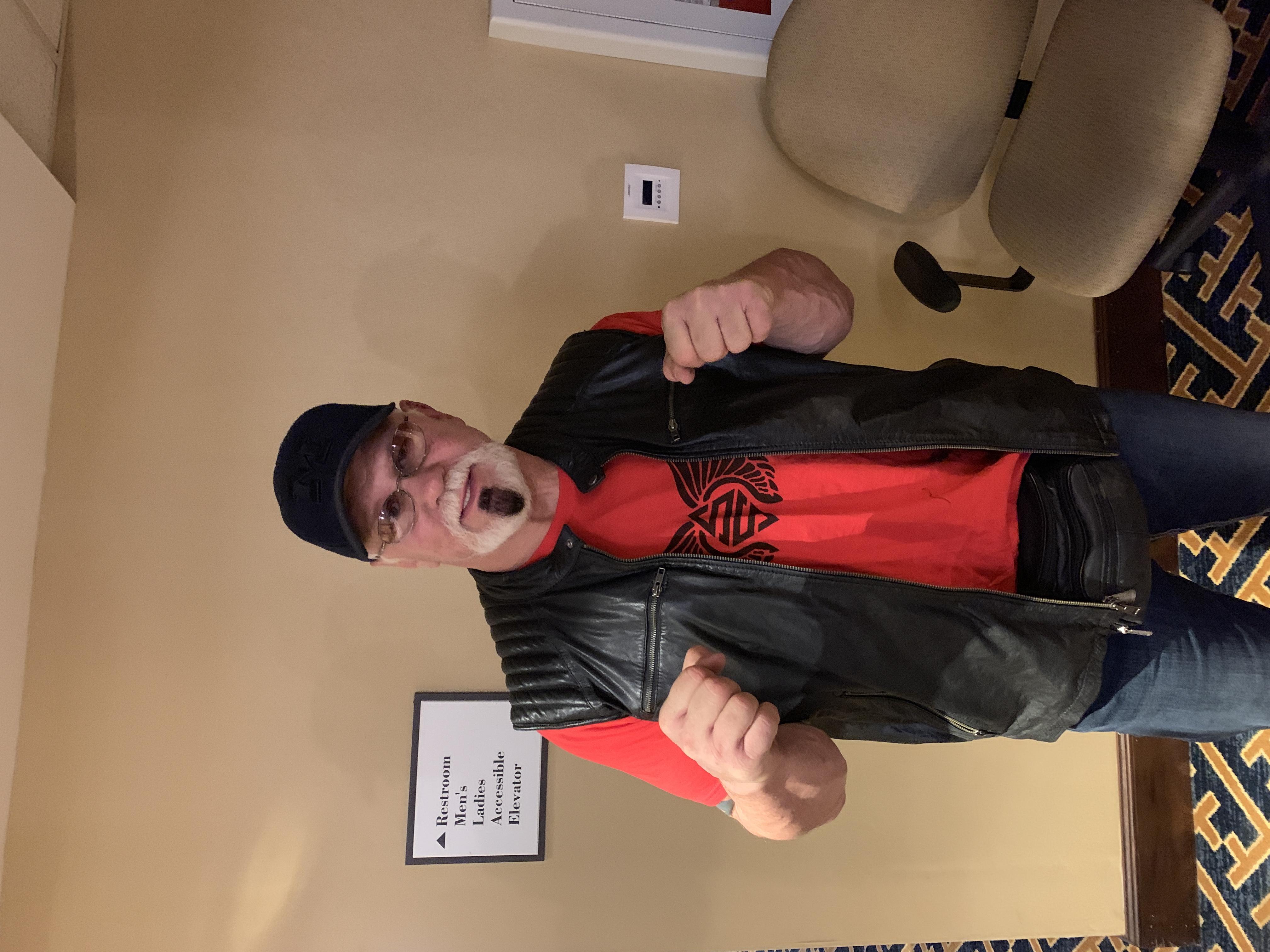 Wrestler Scott Steiner