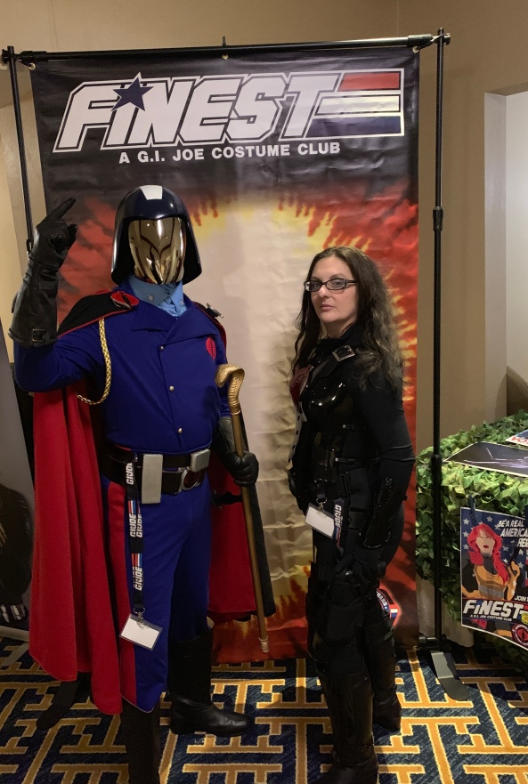 Cobra Commander and the Baroness