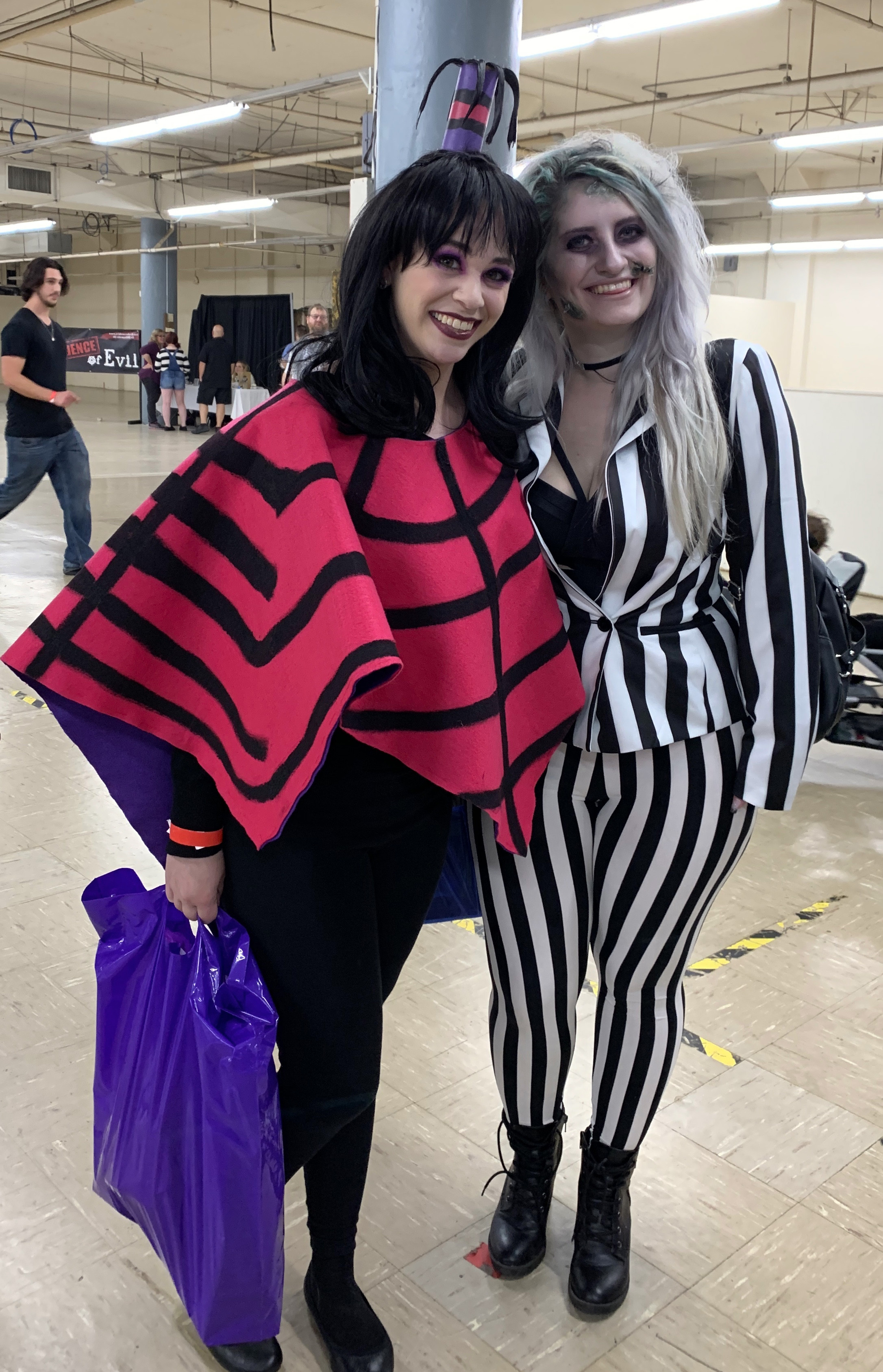 Lydia and Beetlejuice.