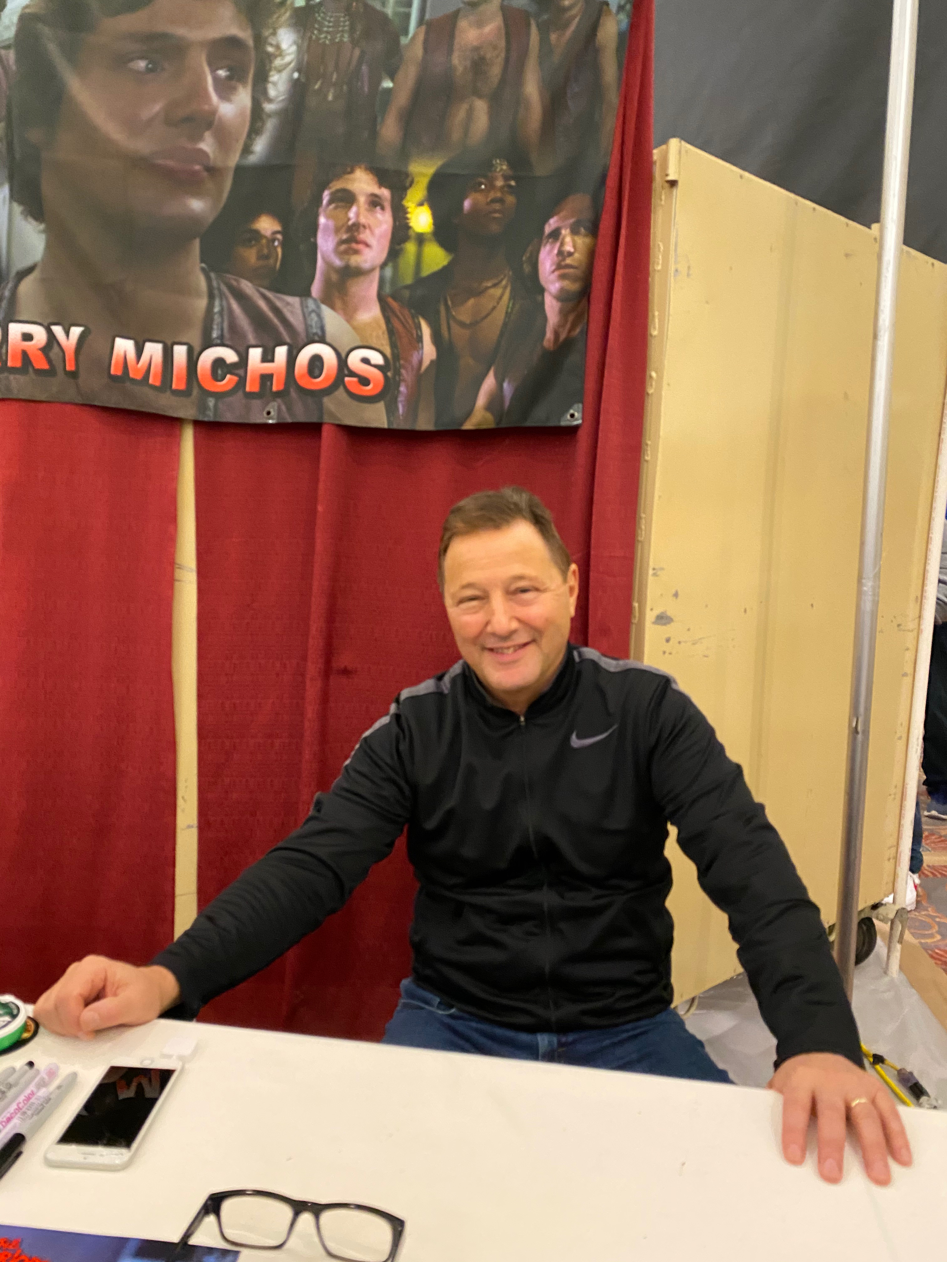 Terry Michos (The Warriors).