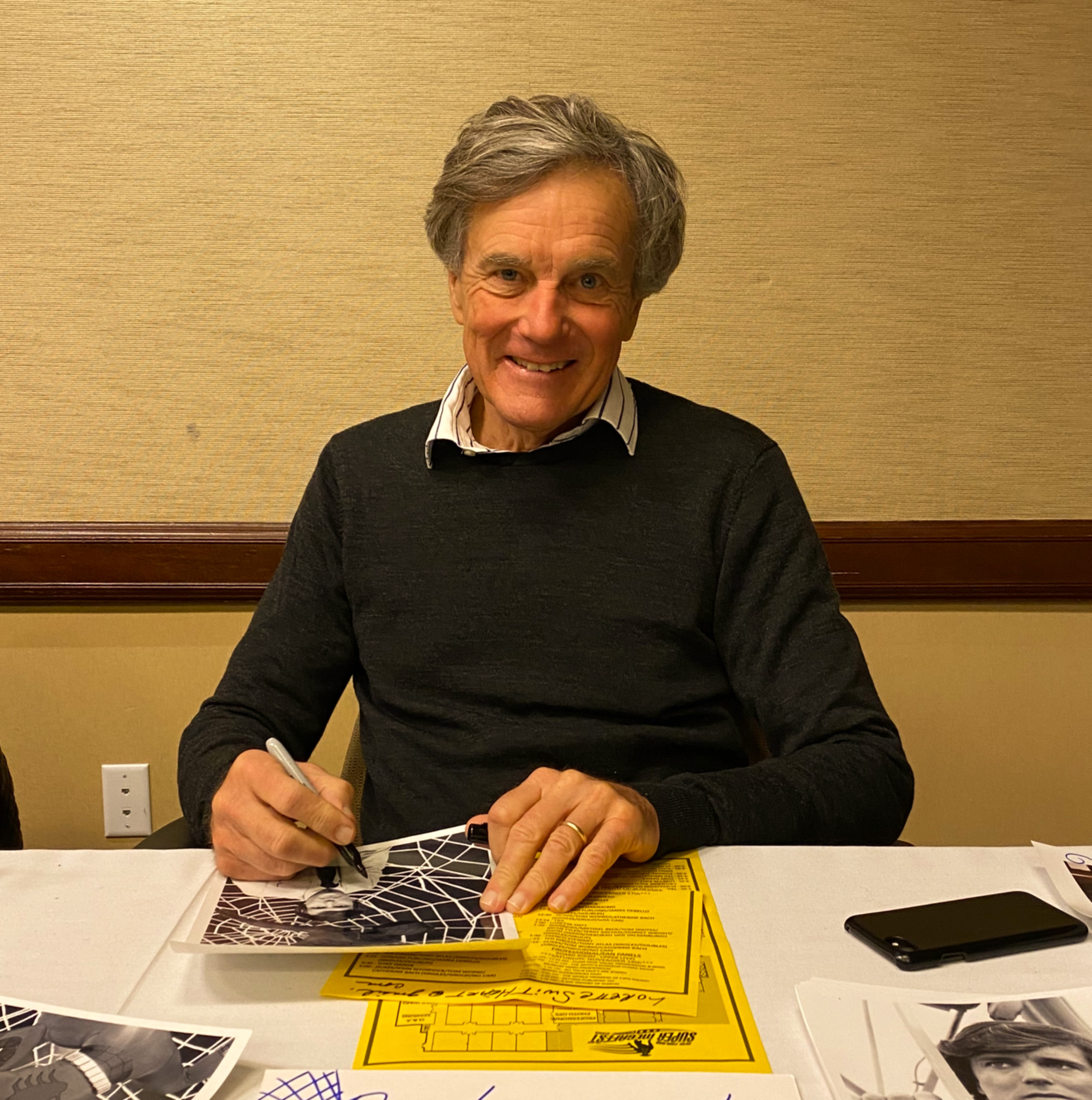 Nicholas Hammond (The Sound of Music, Once Upon A Time in Hollywood).