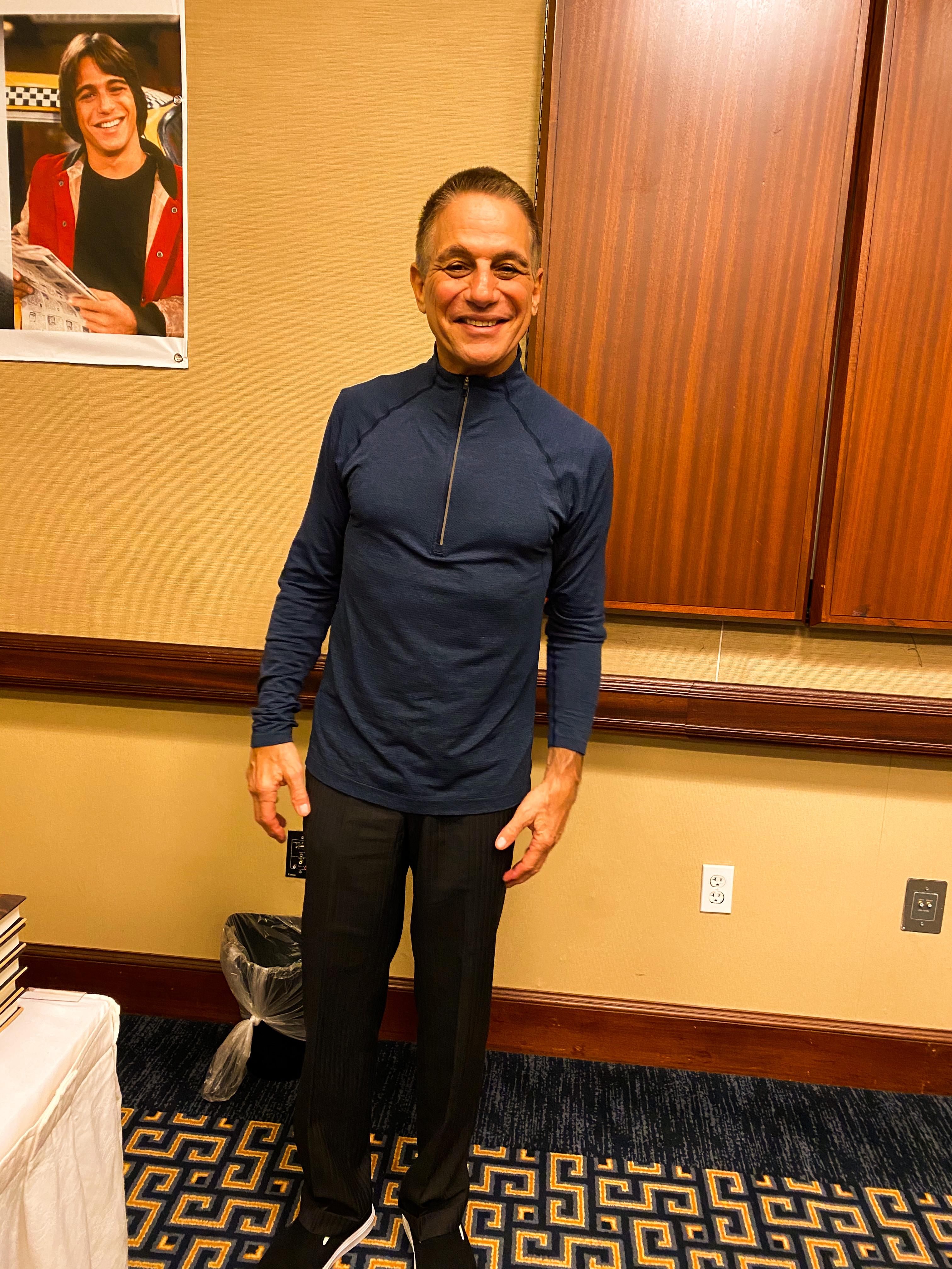 Tony Danza (Who's the Boss).